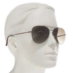 BNWT Gucci 59mm Aviator Sunglasses
